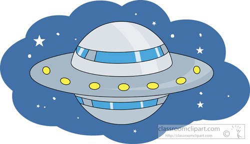 Flying Saucer Space Ship